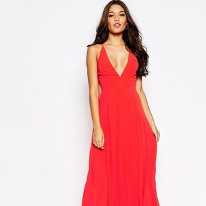 Strappy Scarlet Red Dress